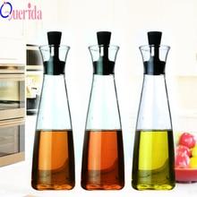 Olive Oil Spraying Glass Leak Control Kettle 500ml Sauce Bottle Bottles For And Vinegar Spice Jars Kitchen Accessories