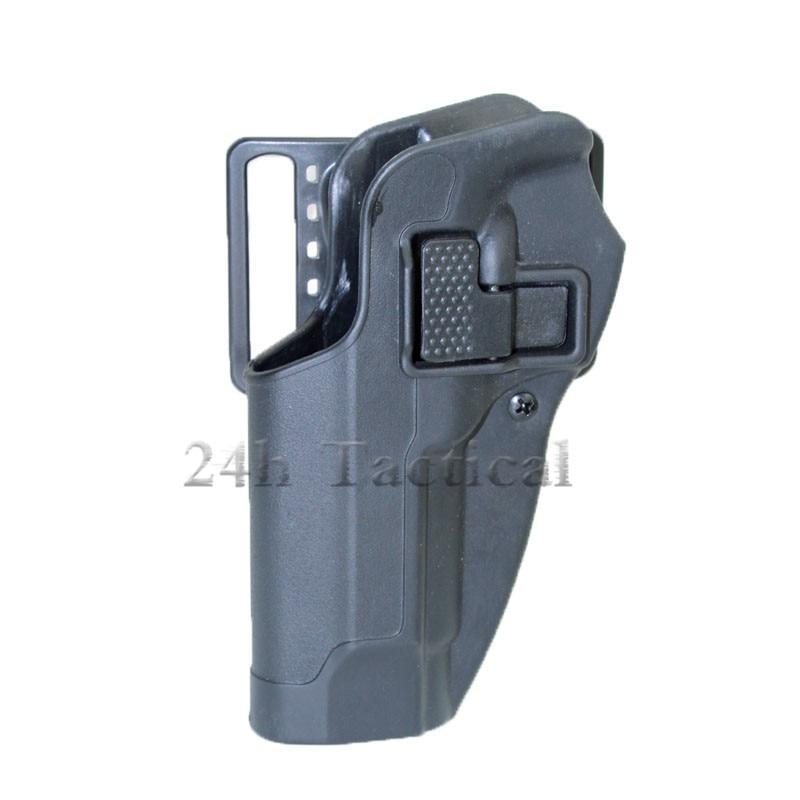 Tactical CQC Quick Left Hand Waist Paddle Belt Loop Pistol Holster Gun Case Pouch for Beretta 92 96 M9 M92 holster gun holster pouch left gun holster - title=