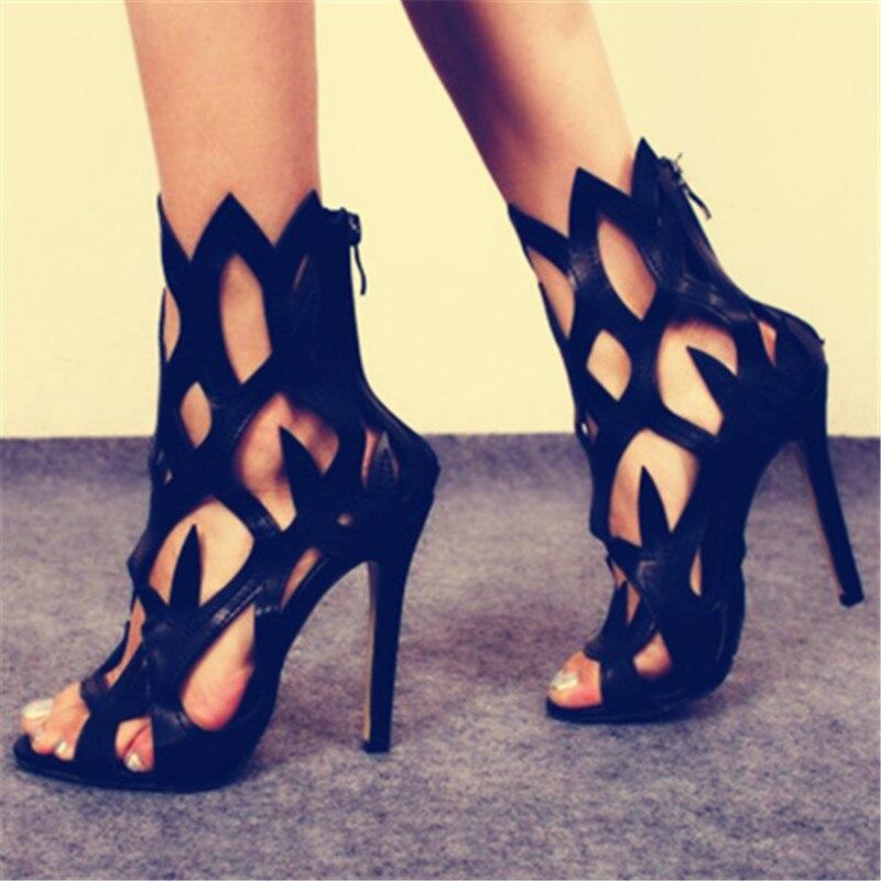 Creux Stilettos Offre De Cheville Spéciale Show Mujer As Talons Toe Sexy Chaussures Élégantes Peep D'été Sandalias Galdiator Ville Femme Marée wI1rIqR