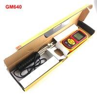 GM640 LCD נייד אורז חיטה גרגרים מד לחות עבור תירס שעועית בודק טמפרטורת לחות צג
