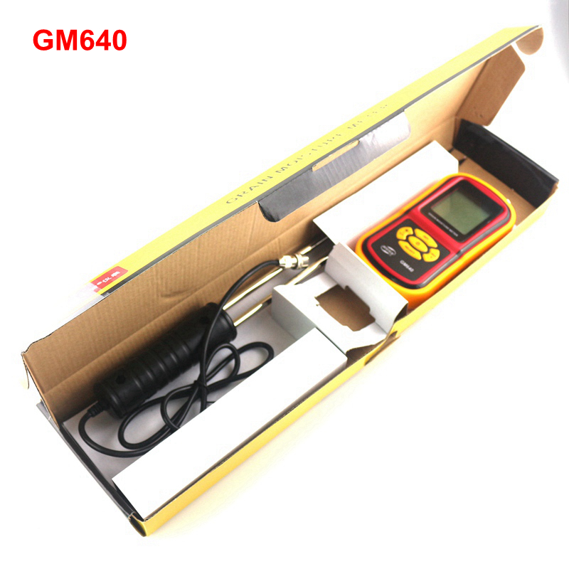 GM640 Portable LCD Grain Moisture Meter for Corn Wheat Rice Bean Temperature Humidity Tester Monitor цена