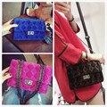 Весной и летом новый Европейской и Американской моды классический бархат эстетическое качество Lingge цепи сумка сумка сумка