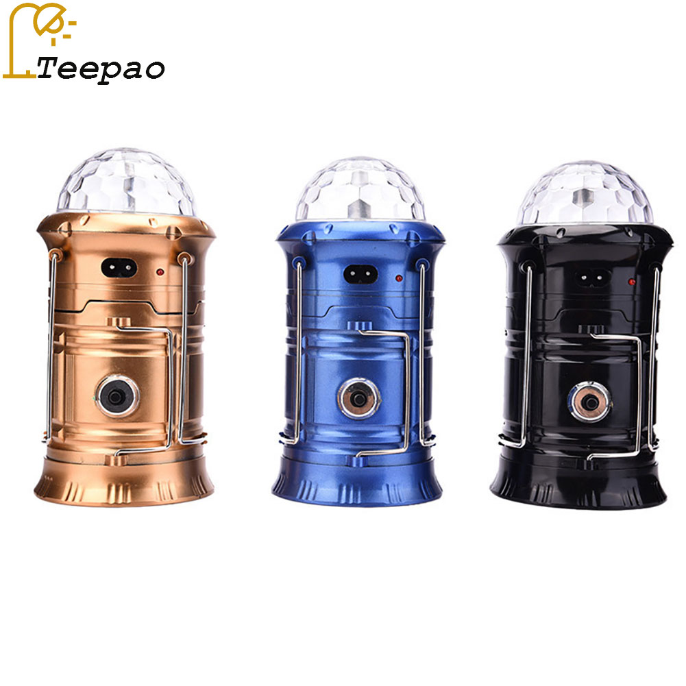 Leegoportable Lantern Led Camping Light With Fan