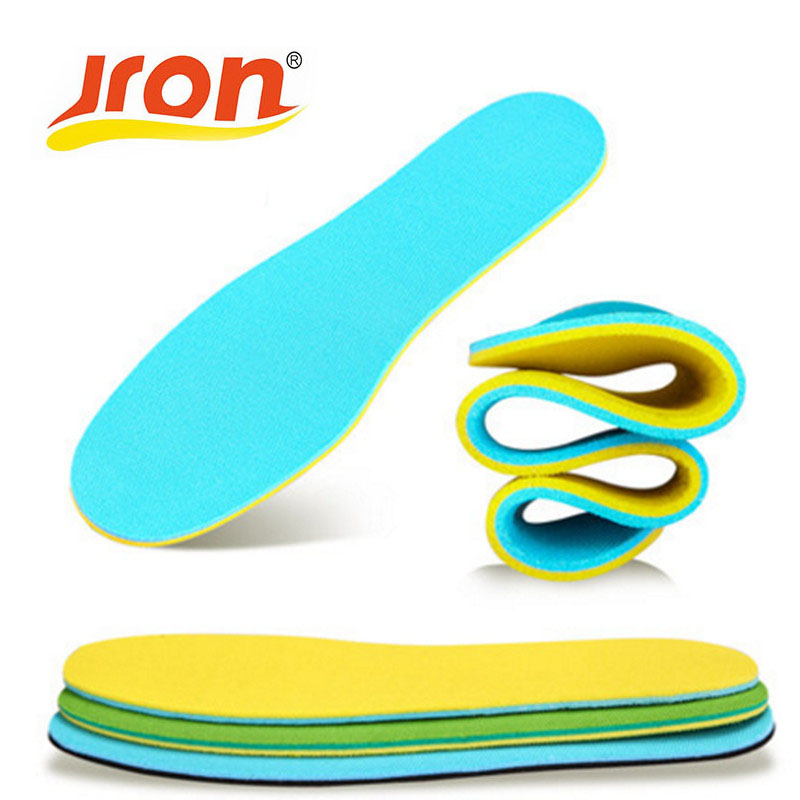 Sport insoles Professional Hiking Outdoor Shoe Insoles Shock Sweat Absorption Massging Gel insole Foot Care Expert  Men Woman 2017 promotion gel insoles shock