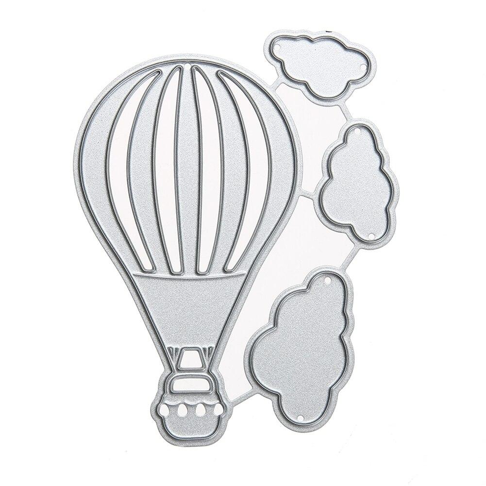 Fire Balloon Metal Die Cutting Dies Scrapbooking Embossing Folder