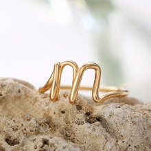New Female Custom Rings For Women Lover Friendship Name Letter Ring Statement Party Charm Jewelry