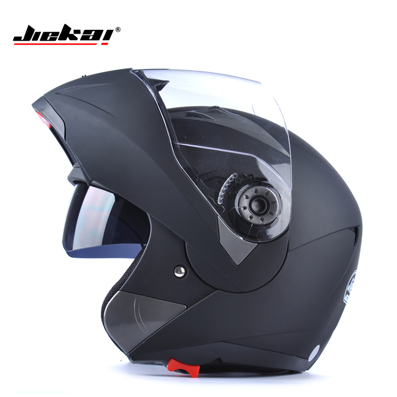 NEW ARRIVE DOT sticker JIEKAI 105 Flip Up Motorcycle helmet motocicleta casco Helmets motorcross racing helmet