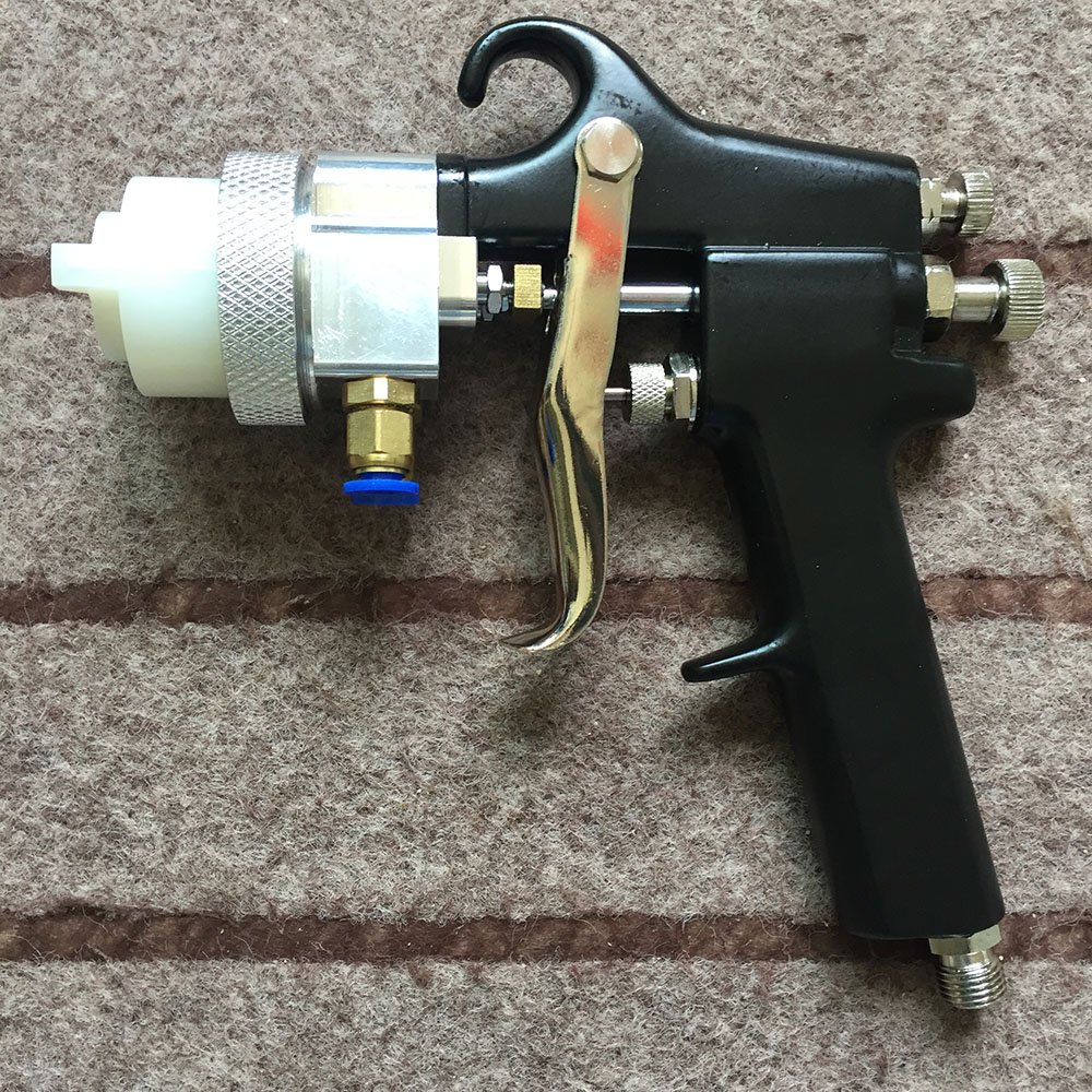 SAT1182 airbrushing double action pressure spray gun pneumatic painting tools spray chrome plating paint gun double nozzle gun стоимость