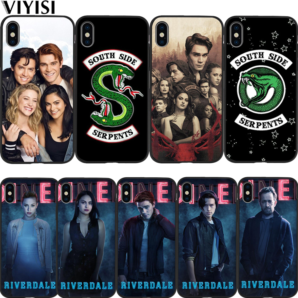 For <font><b>iPhone</b></font> 7 <font><b>Case</b></font> American TV <font><b>Riverdale</b></font> Series Jughead Jones Phone <font><b>Case</b></font> For <font><b>iPhone</b></font> 8 <font><b>6</b></font> 6S Plus 5 5S SE X XS MAX XR Coque Etui image