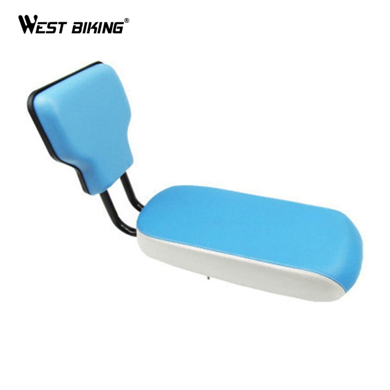 WEST BIKING Children Bicycle Seats Bike Rear Tail Saddles Seats Soft Children Backrest Cycling Seat Bicycle Back Saddle For Kids 12 14 16 kids bike children bicycle for 2 8 years boy grils ride kids bicycle with pedal toys children bike colorful adult