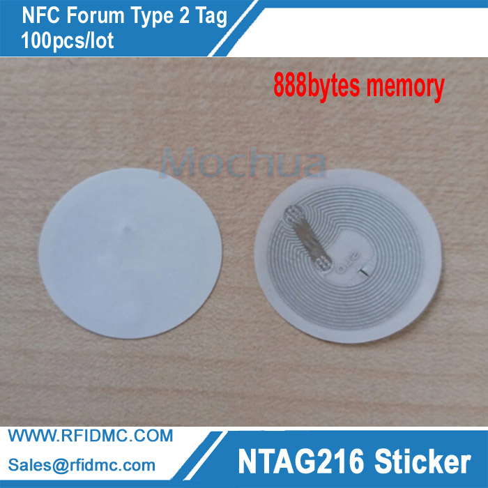 NTAG216 Lable NFC Sticker NFC tag 888bytes memory works with All NFC enabled devices waterproof nfc tags lable ntag213 13 56mhz nfc 144bytes crystal drip gum card for all nfc enabled phone min 5pcs