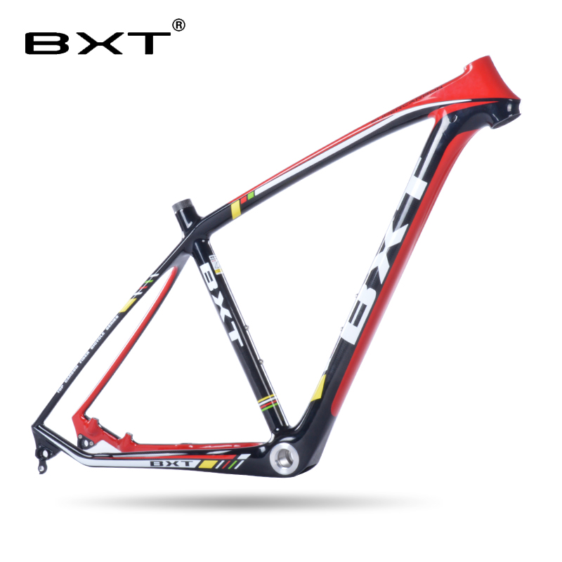 New Arrival BXT Brand Full Carbon Frame Mountain Bike Bicycle Carbon MTB Frame 26er 3k Gossy