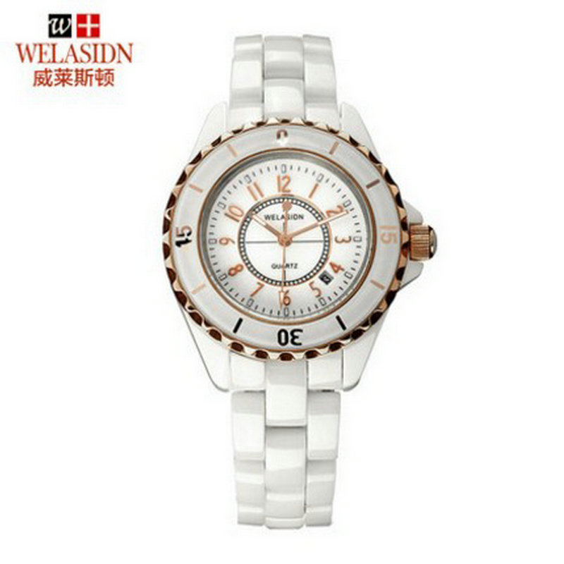 Low price Ceramic quality quartz female watch feminino font b Women b font Lady Princess Gift