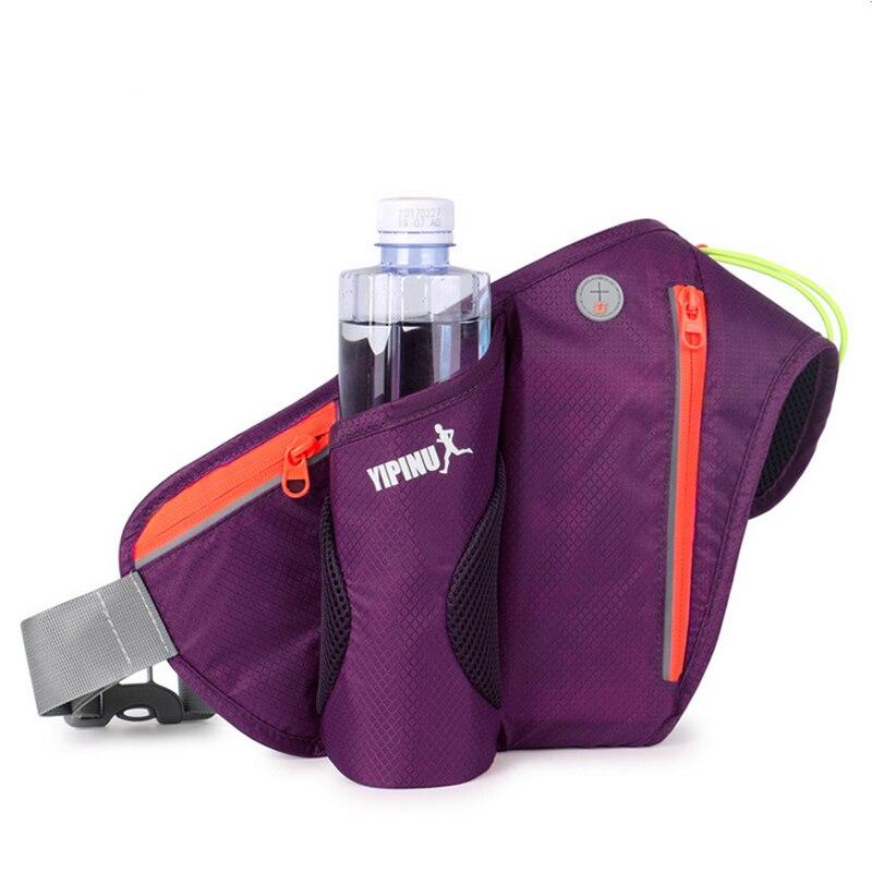 Prix pour Fonctionnelle Trail Running Fitness Sac Sport Ceinture Taille Hommes Femmes Téléphone Mobile Bouteille D'eau Du Ventre Sac