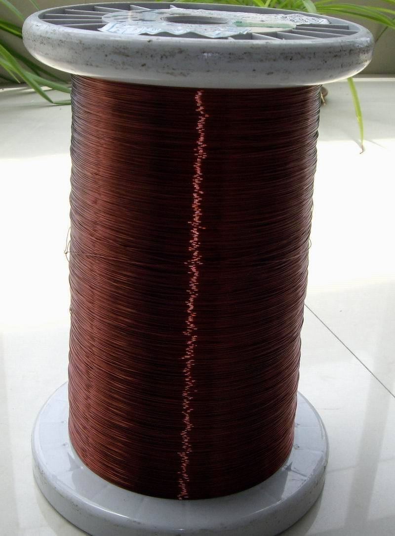 100 Meters/lot 0.33mm Mm High-temperature Enameled Wire Enamelled Round Copper Wire, QZY-2-180 Temperature Of 180 Degrees Celsiu