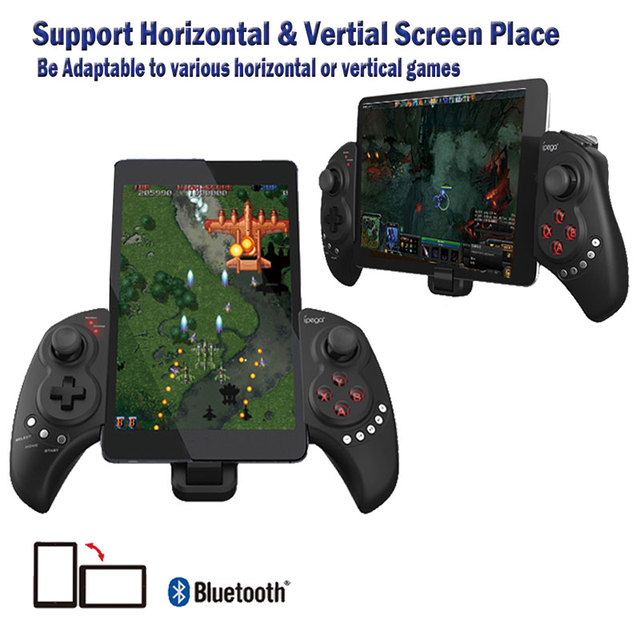 IPEGA PG 9023 Telescopic Gamepad Wireless Bluetooth Joystick Controller For Android IOS iphone 7 ipad 1