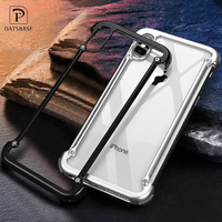 OATSBASF Airbag Metal Case For IPhone X Case Personality Airbag Shell For IPhone X Metal Bumper