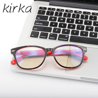 משקפיים משקפיים אנטי ריי הכחול מחשב הגנה Kirka לגברים עם משקפי שמש אצטט כיכר