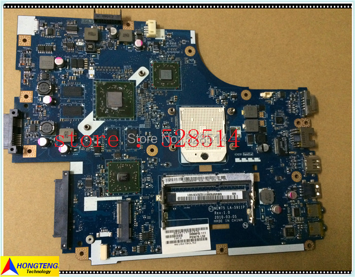 Laptop motherboard for acer aspire 5551 5552 MAIN BOARD MBWVF02001 LA-5911P 100% tested OK куплю маз 5551 5549 в украине