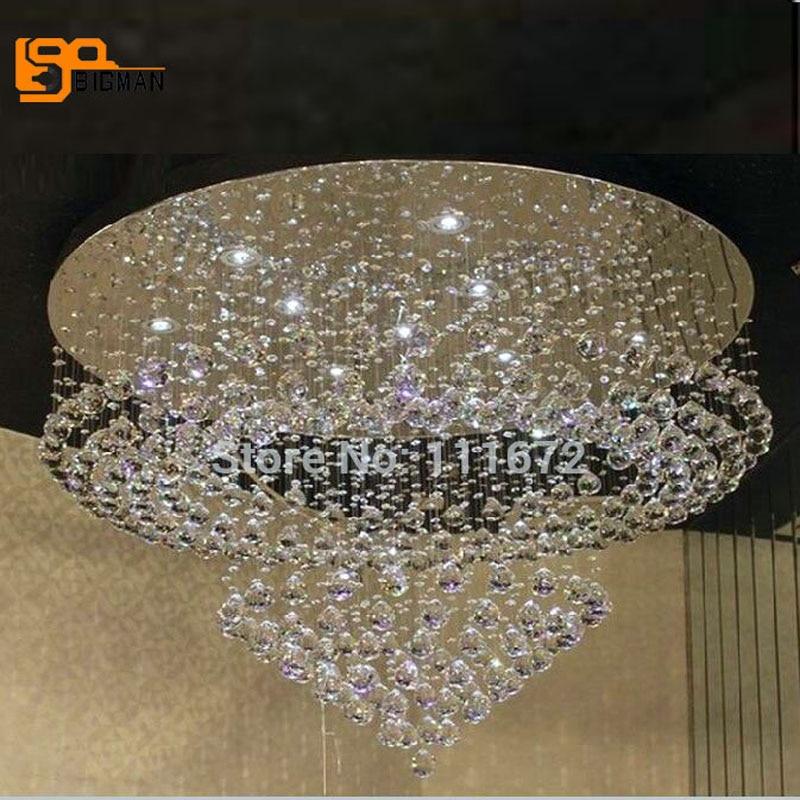 Neue Moderne Kronleuchter LED Licht Fixures Wideth 80 Cm Wohnzimmer LampeChina Mainland