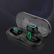 TWS Bluetooth Wireless Earphones Mini IPX5 Waterproof Wireless Earphones Wireless stereo earphone Cordless With Mic Q32 black qcy q29 mini wireless bluetooth 4 1 dual earphones with mic black