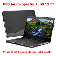 Detachable Laptop Cover For Hp Spectre X360 13 3 Inch Creative Design Sleeve Case Pu Leather