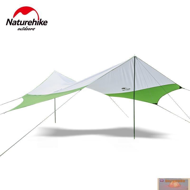 Nature randonnée grande tente de Camping auvent plage jeux de pêche randonnée en plein air 5 personnes tente comprennent une paire de poteaux