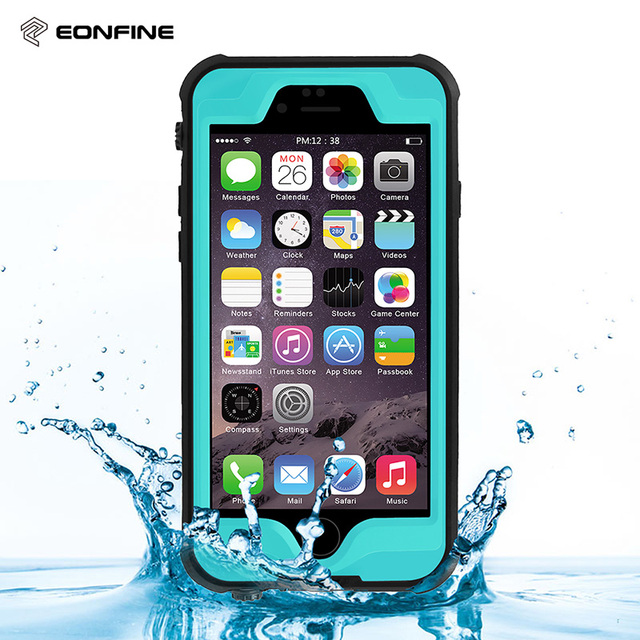sports shoes c4ecb 4c6c7 US $16.5 |For iPhone 6 Plus Waterproof Case 360 Degree Underwater Life  Water proof Hard PC + TPU Armor Case For iPhone 6s Plus Cover-in Fitted  Cases ...