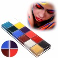 12 Flash Tattoo Color Face Body Paint Oil Painting Art Make Up Halloween Party Fancy Dress Makeup Tools