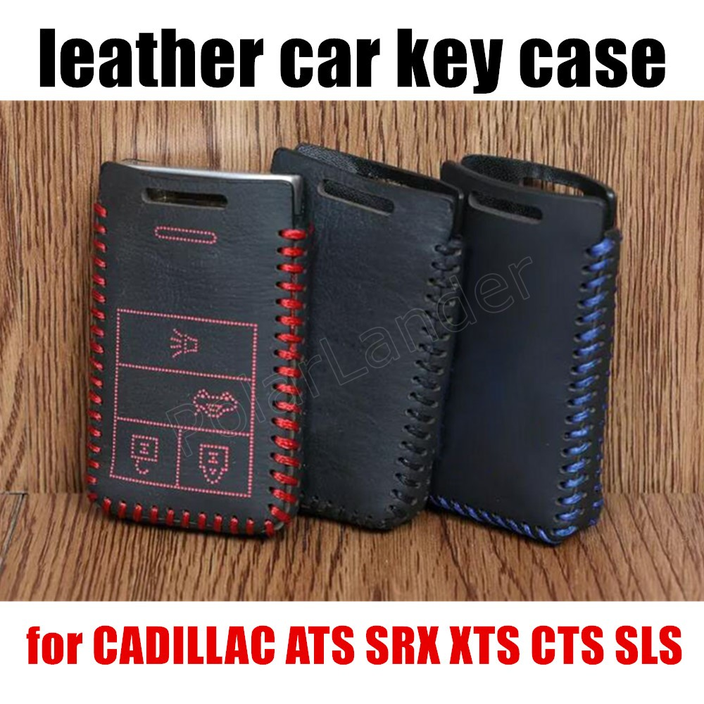 Only Red Fit For CADILLAC ATS SRX XTS CTS SLS Car Key Case