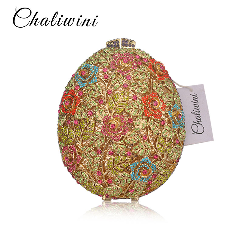 Chaliwini Hollow Out Flower Crystal Evening Purse For Women Party Dinner Luxury Handbags Bridal Clutch Wedding Party BagChaliwini Hollow Out Flower Crystal Evening Purse For Women Party Dinner Luxury Handbags Bridal Clutch Wedding Party Bag