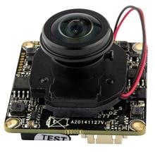 1080P full hd Onvif P2P H.264 webcam wide angle180/360 degree panoramic fisheye lens Network CCTV Security ip camera module