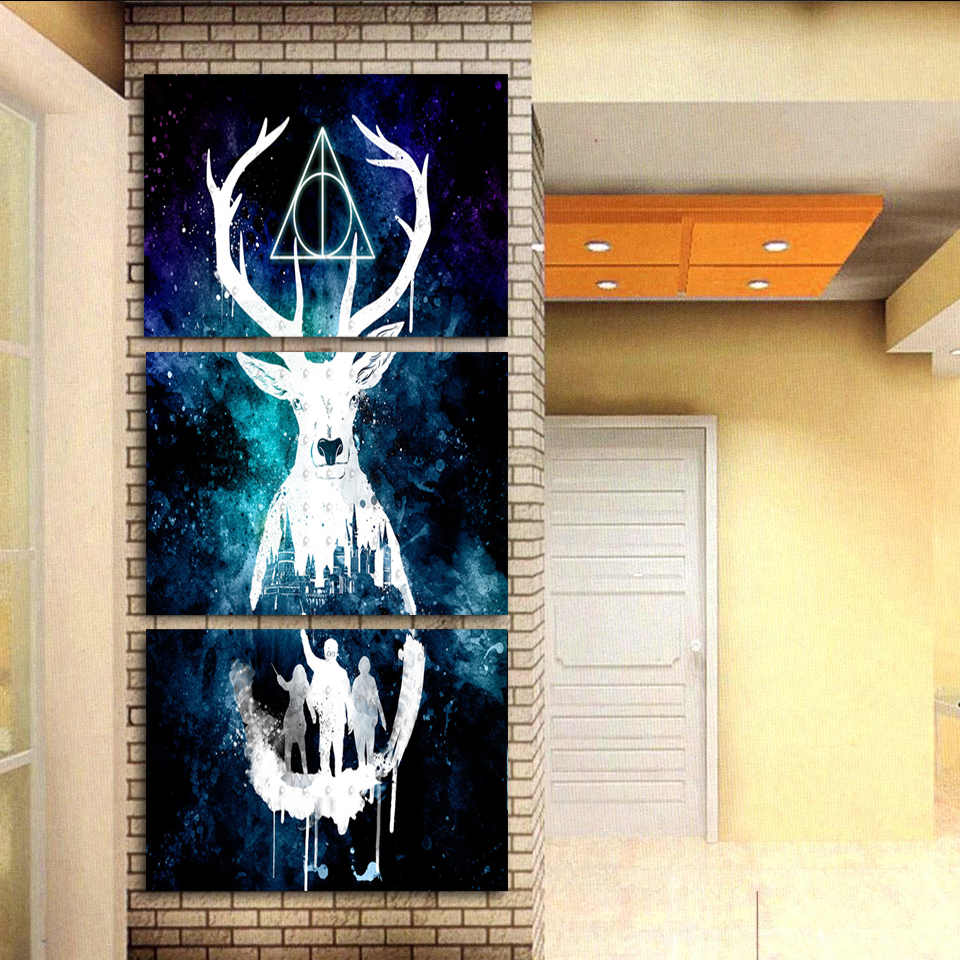 Harry Potter Poster Kunst Moderne Home Decor Leinwand Bild HD ...