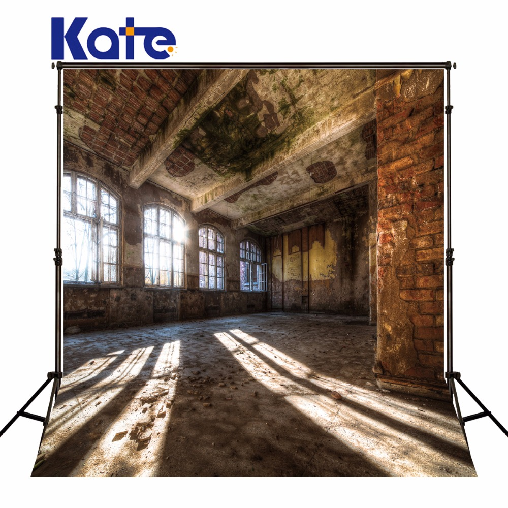 Kate Photography Backdrops Retro Old House Brick Wall Photo Studio Background For Children Backdrop huayi 3x6m seamless brick wall wood floor backdrop photography backdrops photo background vinyl backdrop brick paper xt 6400