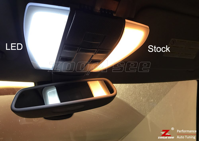 Белый светодиодный светильник без ошибок, Внутренняя купольная карта, комплект для Mercedes Benz E class W210 W211 W212 S210 S211 S212(1995
