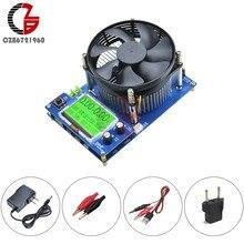 Probador de carga electrónico Digital LCD, 150W, 10A, tipo C, voltímetro, amperímetro, vatímetro, batería, indicador de capacidad, zumbador, alarma, ventilador USB