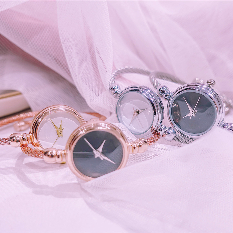 No Scale Minimalist Women Creative Watches Luxury Fashion Art Wild Female Bracelet Watch Ladies Quartz Wristwatches Gifts