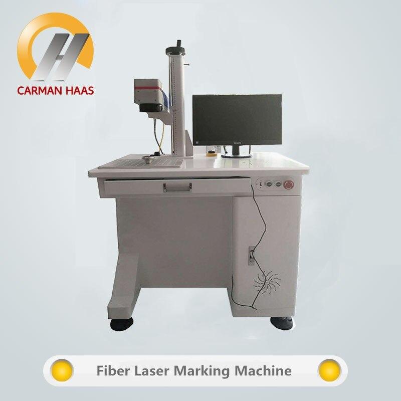 20W Desktop Fiber Laser Marking Machine Metal Marking 1064nm Laser Engraving Machine Metal Marking Machine in Wood Routers from Tools