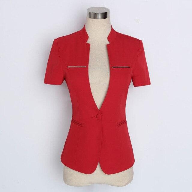 Damen jacke sommer rot