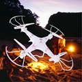 Q7 2.4G 6-Axis Gyro $ NUMBER CANALES FY326 kvadrokopter UFO RC Quad-helicóptero Helicóptero de Control Remoto con Luz LED
