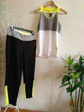 Women's breathable tank and pant one set