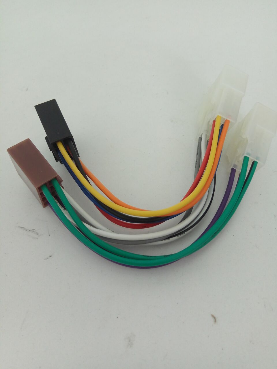 Toyota Receiver Wiring Harness Electrical Diagrams Lexus Diagram Car Iso Radio Wire Adapter For Daihatsu Factory Stereo