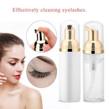 60ml Professional Eye Lashes Foam Cleaner Individual Eyelash Extension Cleanser Shampoo Ey