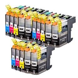 15x Inkten Vervangen Compatibel voor Brother LC223 MFC J480DW J4420DW J5320DW DCP J4120DW J562DW