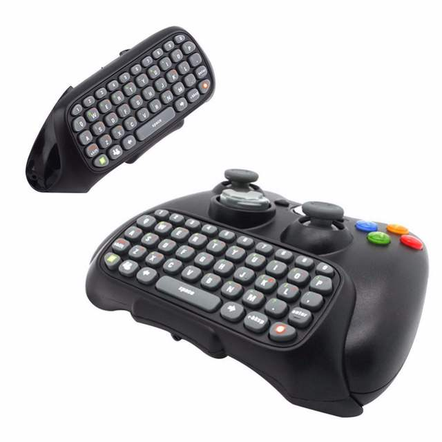 Us 8 69 Original Wireless Controller Messenger Game Keyboard Keypad Chatpad For Xbox 360 In Gamepads From Consumer Electronics On Aliexpress Com