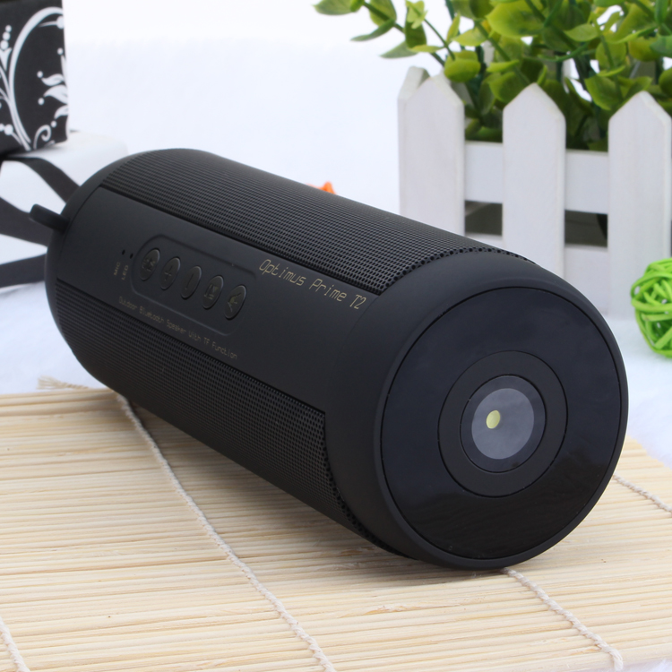 Original T2 Bluetooth Lautsprecher Wasserdichte Tragbare Outdoor Wireless Mini Spalte Box Lautsprecher Unterstützung TF karte FM Stereo Hallo-fi Boxen