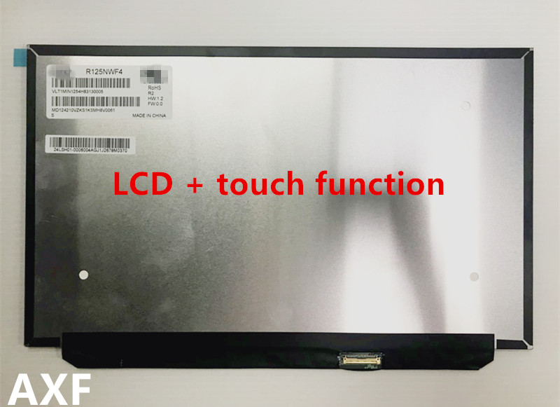 Brand new original For thinkpad X280 X280S LCD screen assembly R125NWF4 with touch function for beijing lida watson ld128eii touch screen lcd data cable original brand new genuine