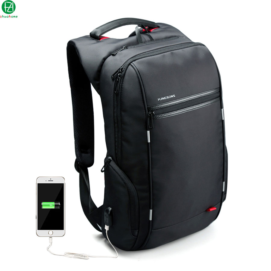 Brand External USB Charge Computer Bag Anti-theft Notebook Backpack 15/17 inch black Waterproof Laptop Backpack for Men Women brand external usb charge computer bag anti theft notebook backpack 15 17 inch black waterproof laptop backpack for men women