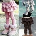 Высокое качество весна осень девушки Поножи девушки брюки Детей брюки