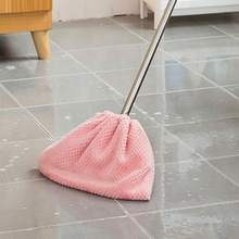 New 1PC Flannel Mop Cloth Cover Multi-function Broom Replacement Home Portable Environmentally Friendly Cleaning Rag